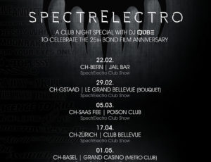 SpectrElectro Show Dates